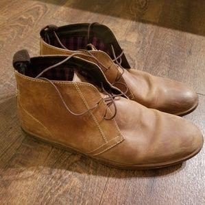 Ben Sherman Brown Chukka Boots Men's Size 10